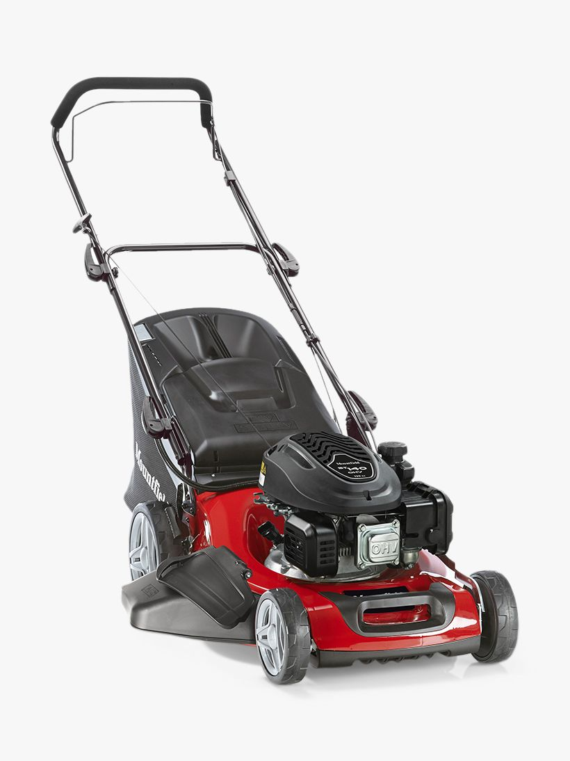 Mountfield Mountfield 481 Hand-Propelled Petrol Lawnmower, Red