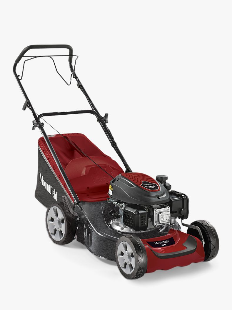 Mountfield Mountfield SP42cm Self-Propelled Petrol Lawnmower, Red/Grey