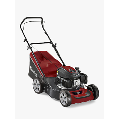 Mountfield HP42 41cm Hand Propelled Lawnmower, Red