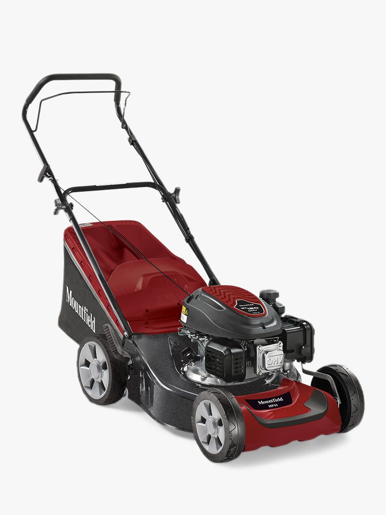 Mountfield Mountfield HP42 41cm Hand Propelled Lawnmower, Red