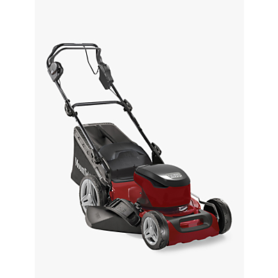Mounfield S46 SD Self Propelled Electric Lawnmower, Red