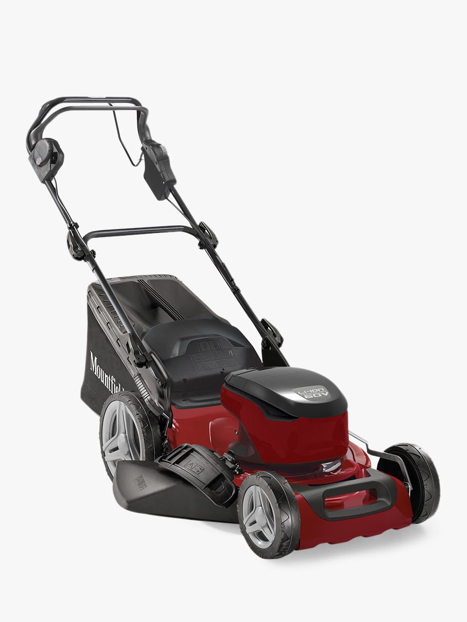 Mountfield Mounfield S46 SD Self Propelled Electric Lawnmower, Red