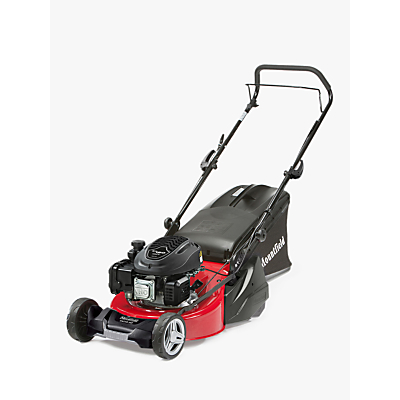 Mountfield S421R Hand-Propelled Petrol Lawnmower, Red