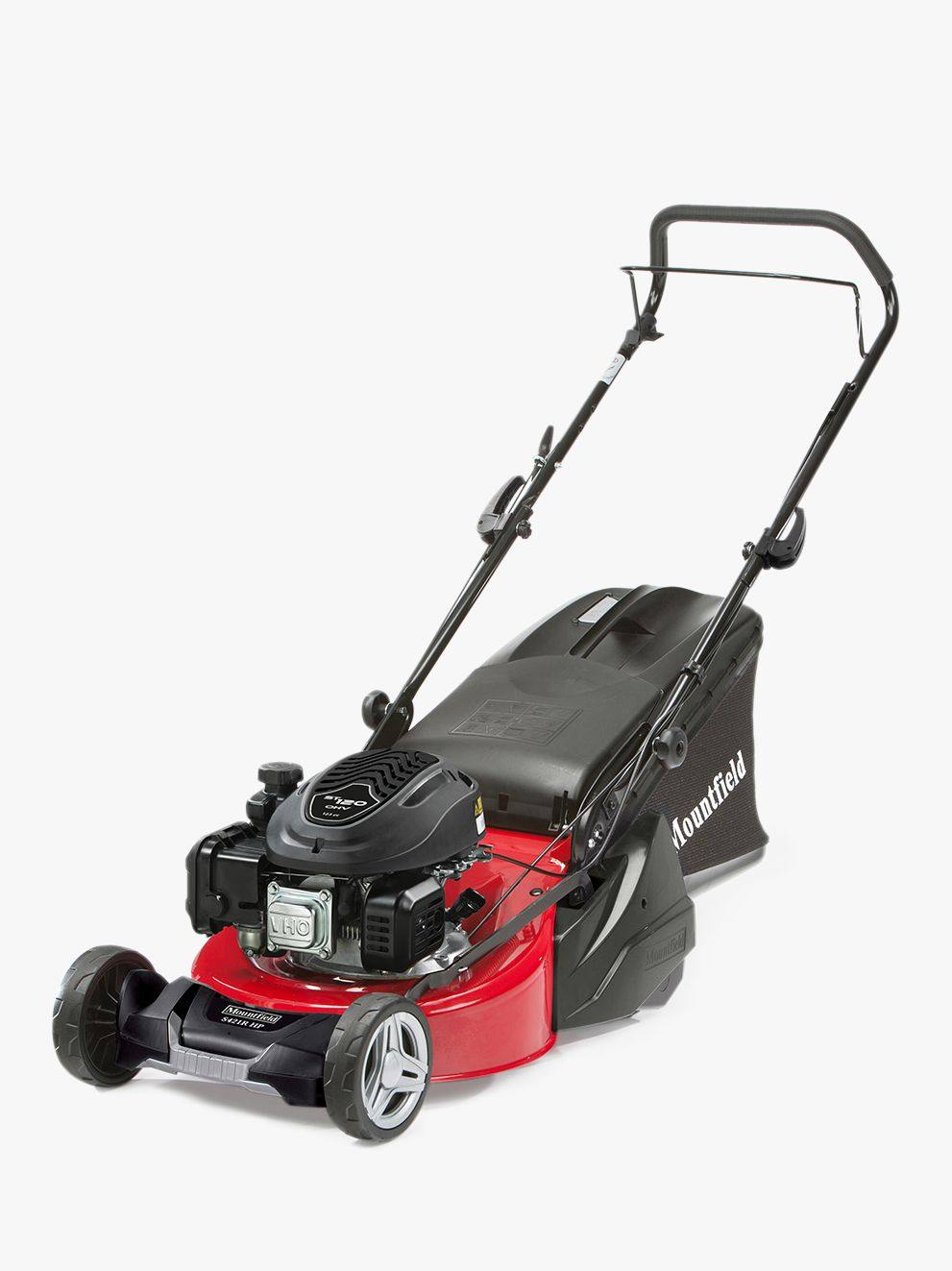 Mountfield Mountfield S421R Hand-Propelled Petrol Lawnmower, Red