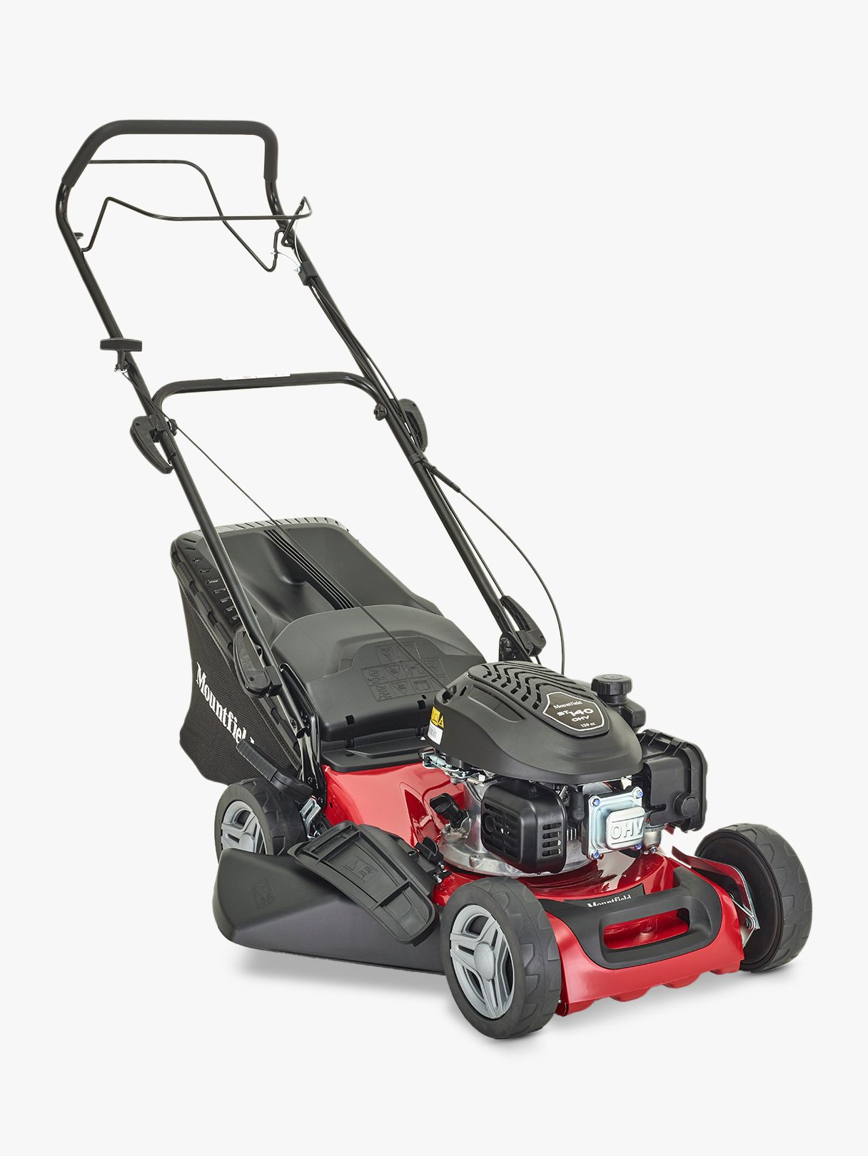 Mountfield Mountfield S421PD Self-Propelled Petrol Lawnmower, Red