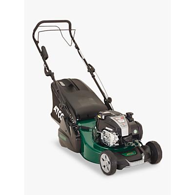Atco Liner 18SE Hand-Propelled Petrol Lawnmower, Green