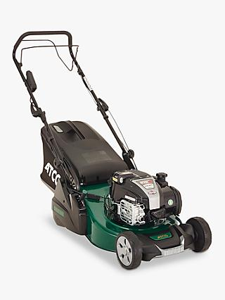 Atco Liner 18SE Hand-Propelled Petrol Lawnmower, Green
