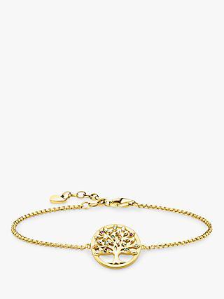 96dd1ad81 THOMAS SABO Glam & Soul Multi Stone Tree of Love Charm Chain Bracelet
