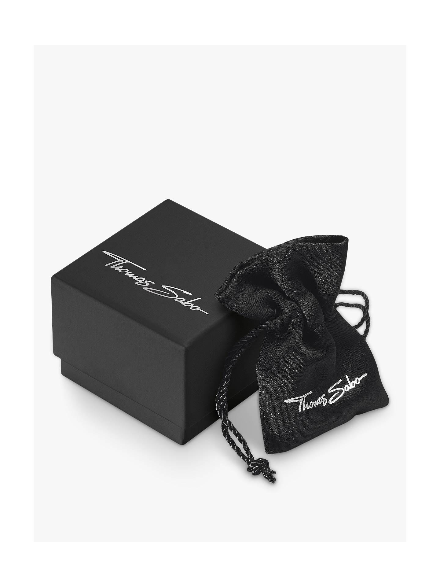 THOMAS SABO Glam & Soul Multi Stone Tree of Love Charm Chain Bracelet,  Gold/Multi