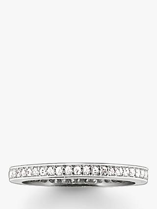 THOMAS SABO Glam & Soul Classic Cubic Zirconia Ring, Silver
