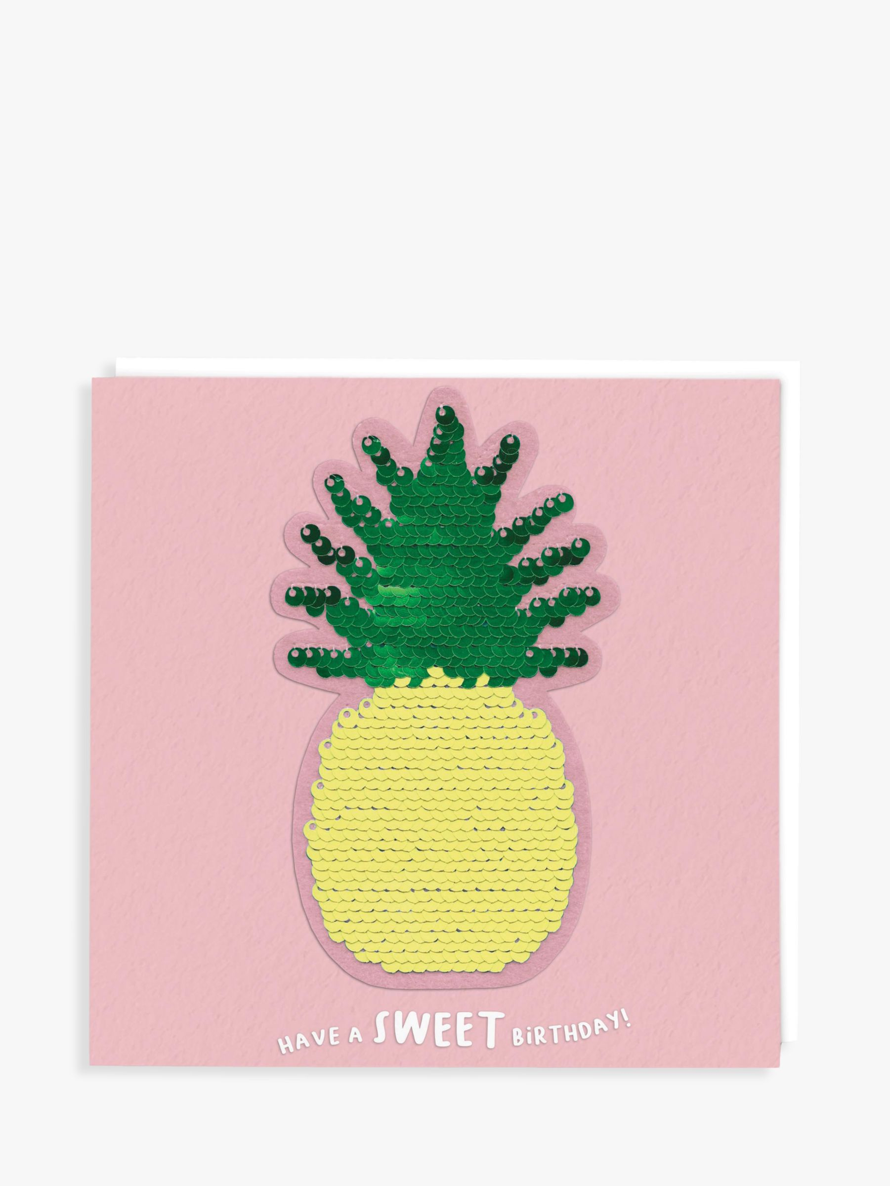 Redback Cards Redback Cards Sequin Pineapple Sweet Birthday Card
