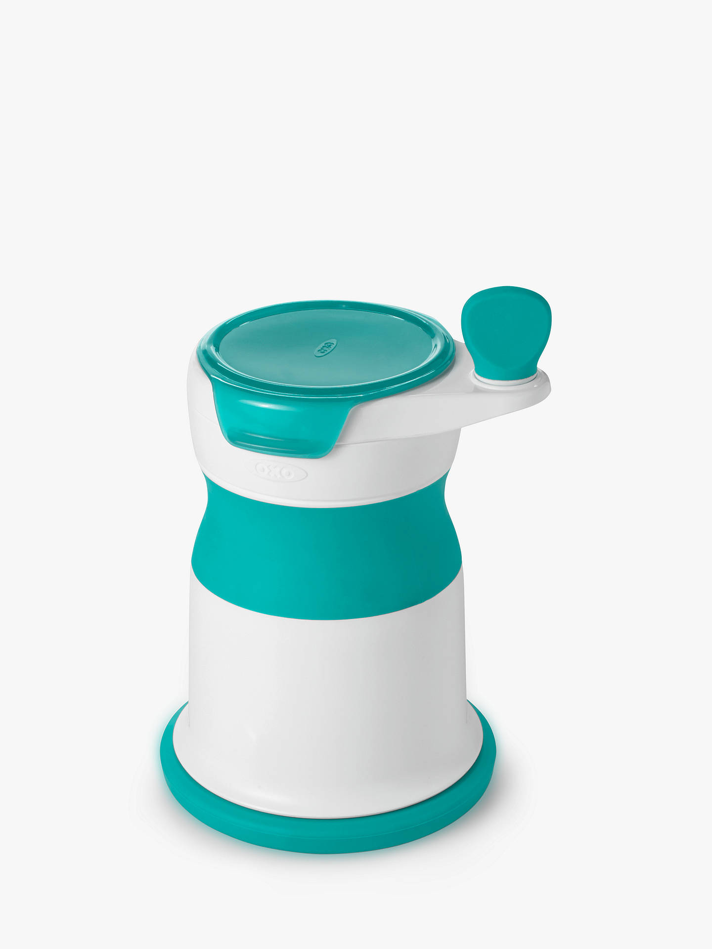 Buy Oxo Tot mash maker teal Online at johnlewis.com