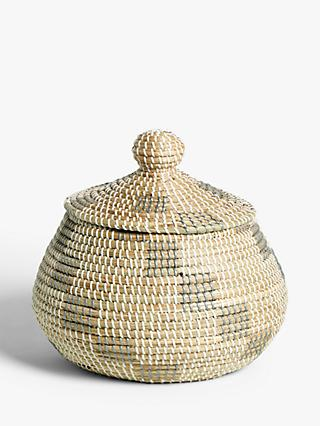 Croft Collection Alibaba Seagrass Basket