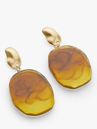f632dcf92ec John Lewis   Partners Resin Statement Drop Earrings