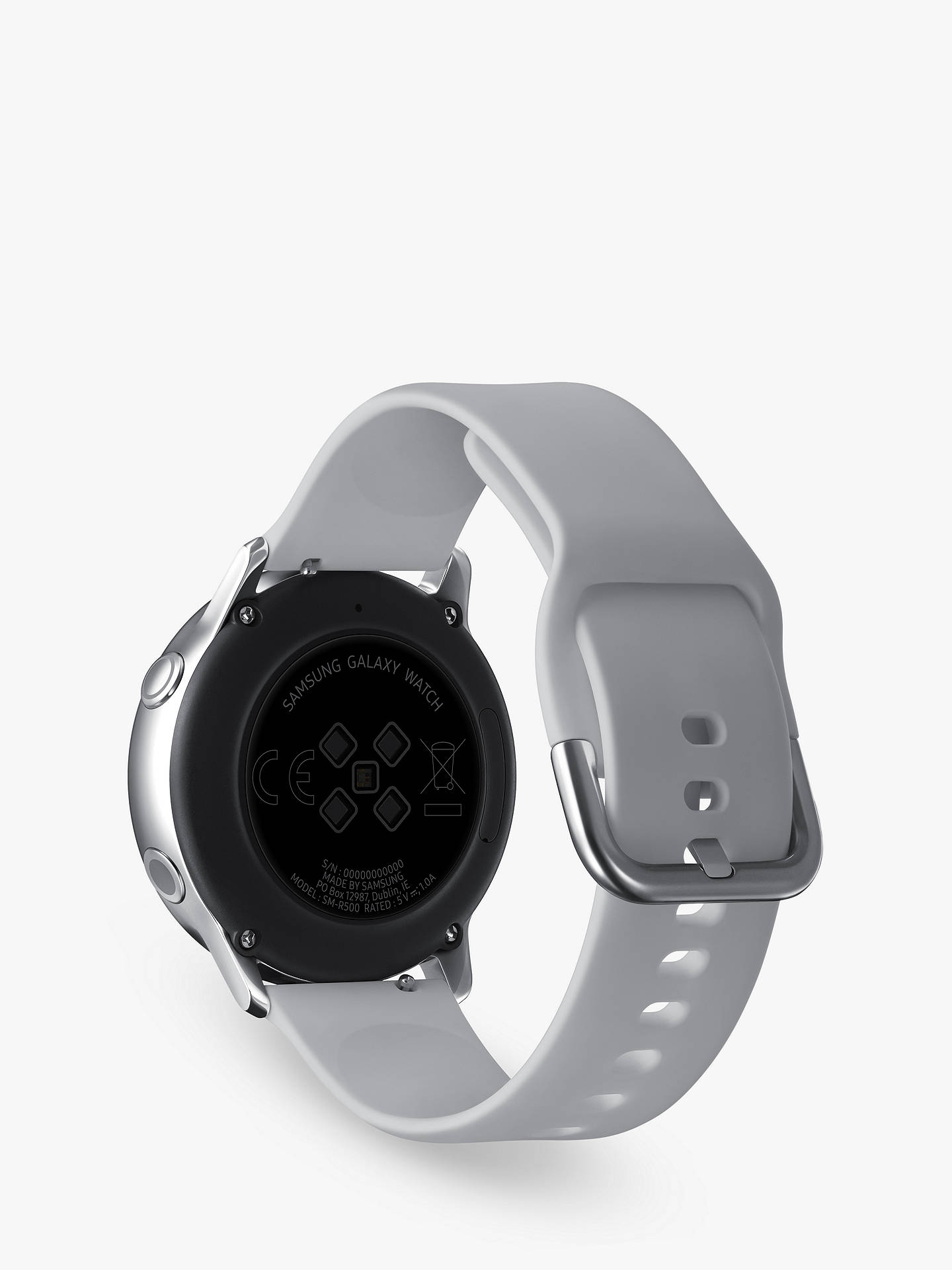 Buy Samsung Galaxy Watch Active, with Heart Rate Monitoring, 40mm, Silver Online at johnlewis.com