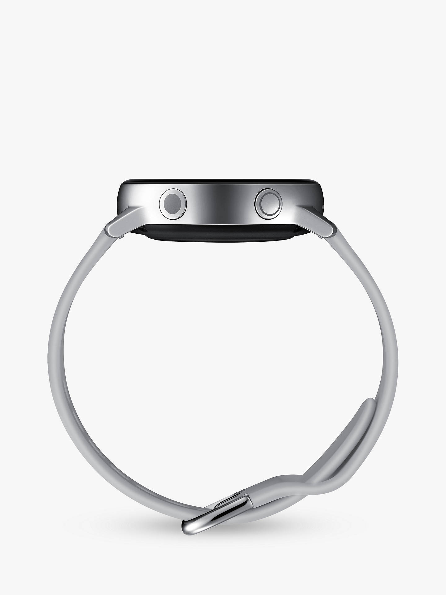 BuySamsung Galaxy Watch Active, with Heart Rate Monitoring, 40mm, Silver Online at johnlewis.com