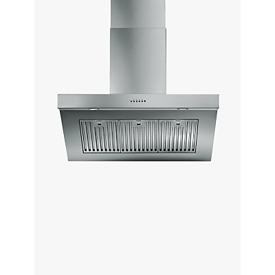 ILVE AGQ90/I Chimney Cooker Hood, Stainless Steel