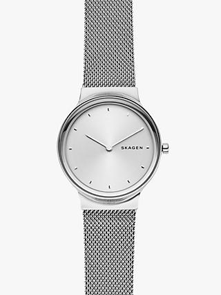 364609ba06fc Skagen Women s Freja Mesh Bracelet Strap Watch