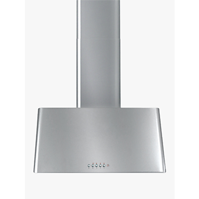ILVE AG70 70cm Traditional Chimney Cooker Hood, A Energy Rating, Stainless Steel