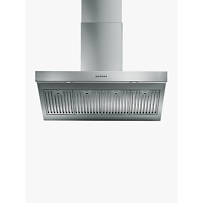 ILVE AGQ100/I Chimney Cooker Hood, Stainless Steel