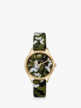 c1925948c40 Michael Kors MK2811 Women s Lexington Leather Strap Watch
