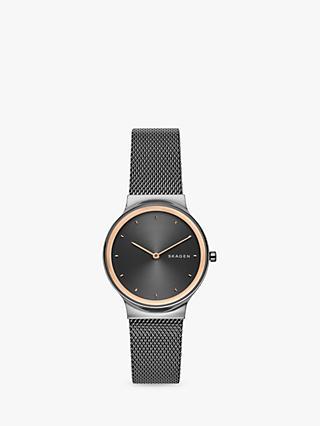 79263cf797a Skagen Women s Freja Mesh Bracelet Strap Watch