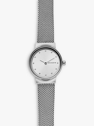 b3fedf1b74a9 Skagen Women s Freja Bracelet Strap Watch