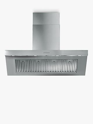 ILVE AGQ120/I Chimney Cooker Hood, Stainless Steel