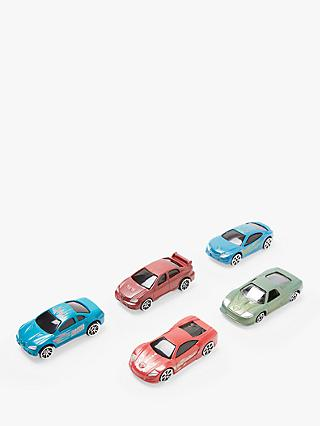John Lewis & Partners 5 Colour Changing Cars