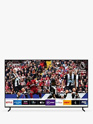 "Samsung QE75Q950R (2019) QLED HDR 4000 8K Ultra HD Smart TV, 75"" with TVPlus/Freesat HD & Apple TV App, Black"