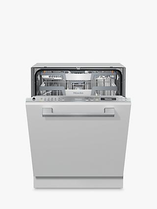 Miele G7150 SCVi Fully Integrated Dishwasher, A+++ Energy Rating, Clean Steel