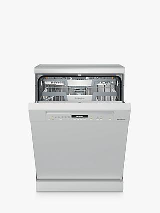 Miele G7100SC Freestanding Dishwasher, A+++ Energy Rating, White