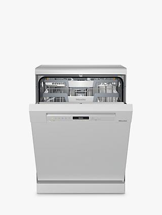 Miele G7310SC Freestanding Dishwasher, A+++ Energy Rating, White
