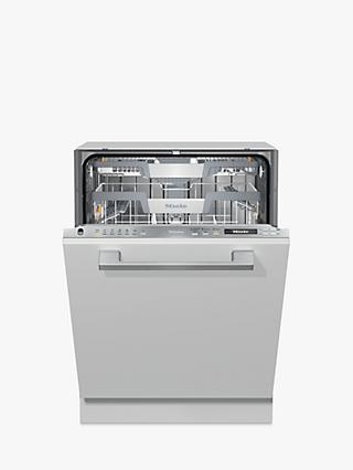 Miele G7155 SCVi XXL Fully Integrated Dishwasher, Clean Steel