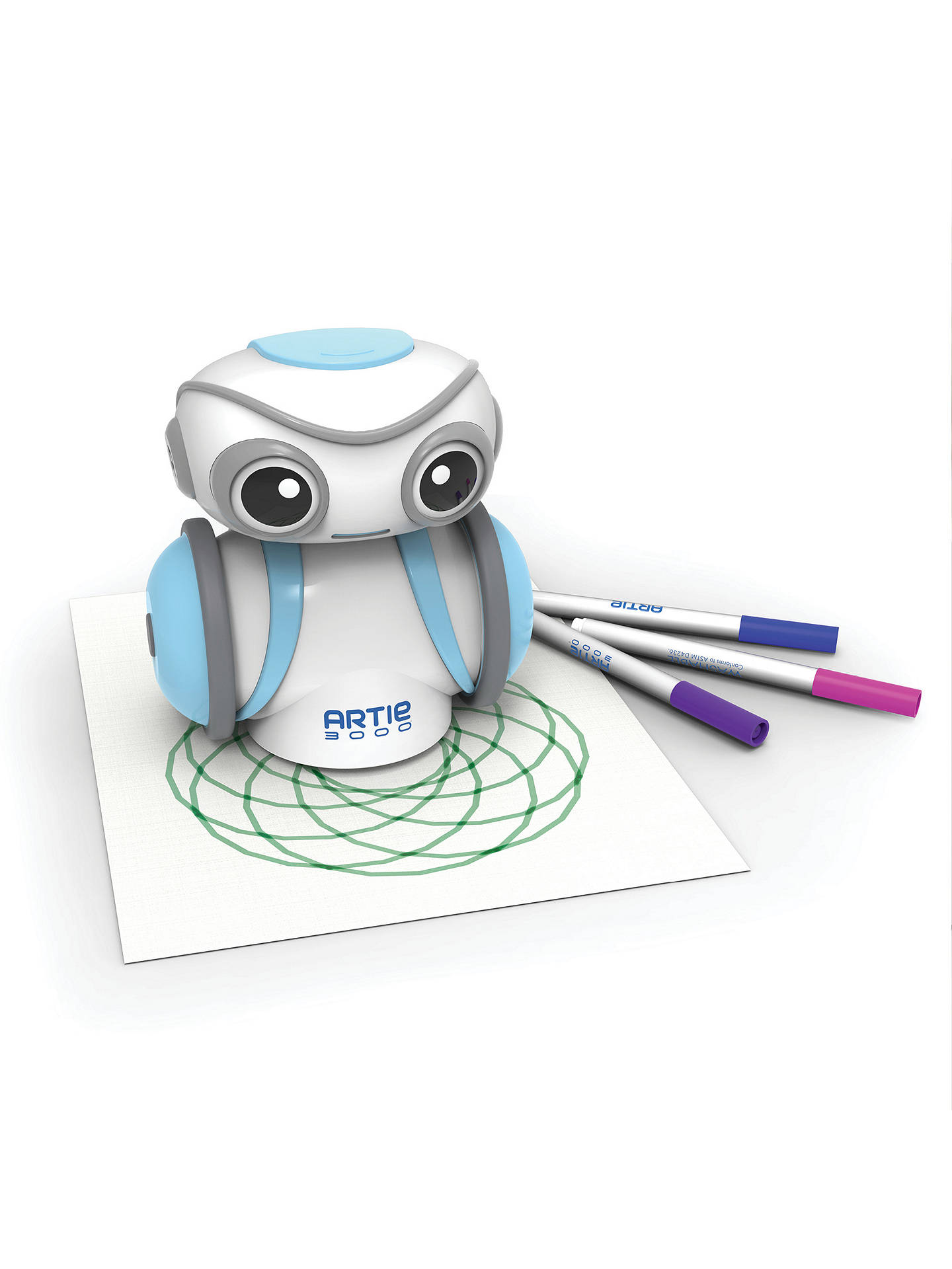 Buy Learning Resources Artie 3000 Drawing Coding Robot Online at johnlewis.com