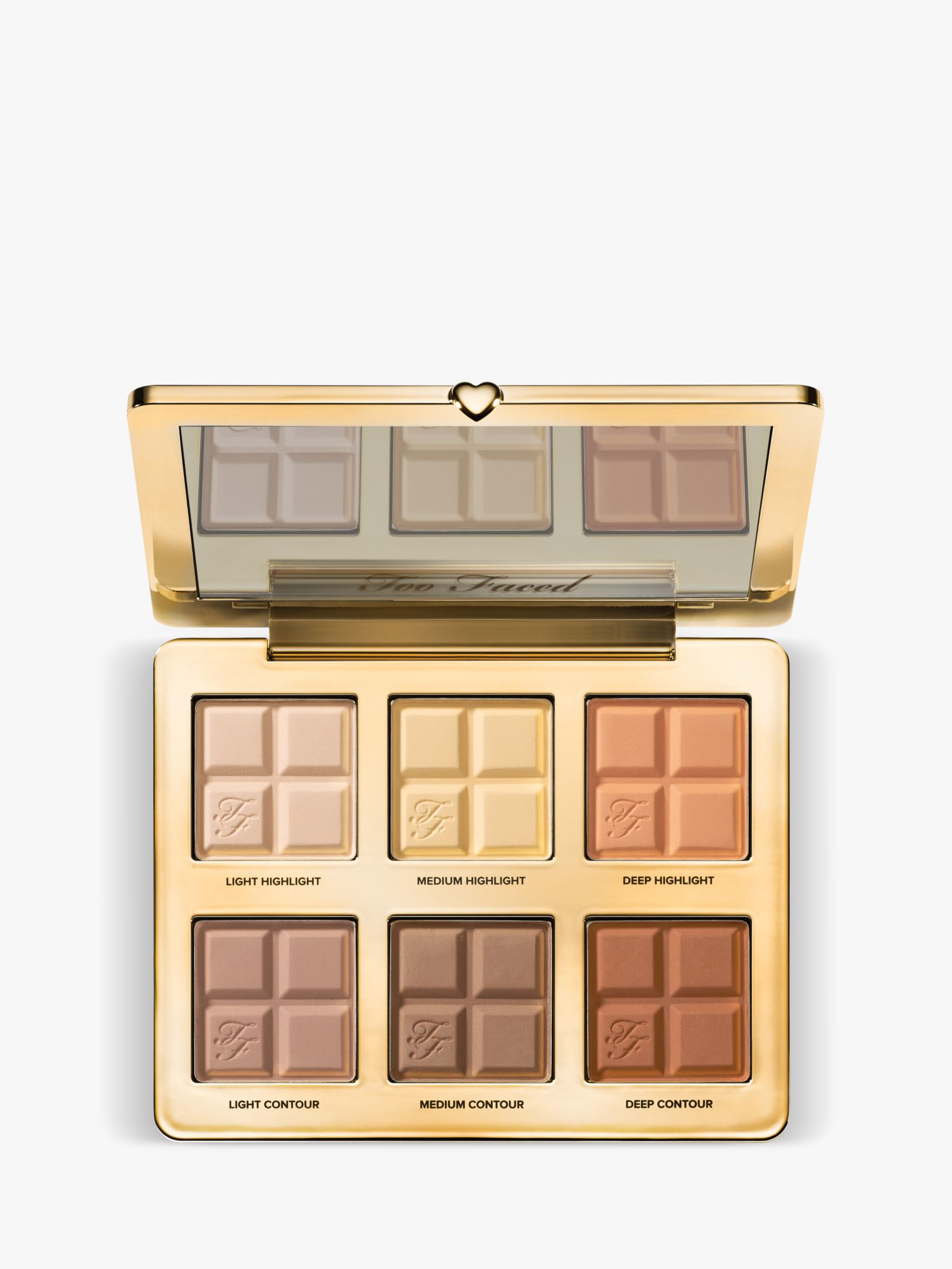 Buy Too Faced Cocoa Contour Contouring & Highlighting Palette, Multi Online at johnlewis.com