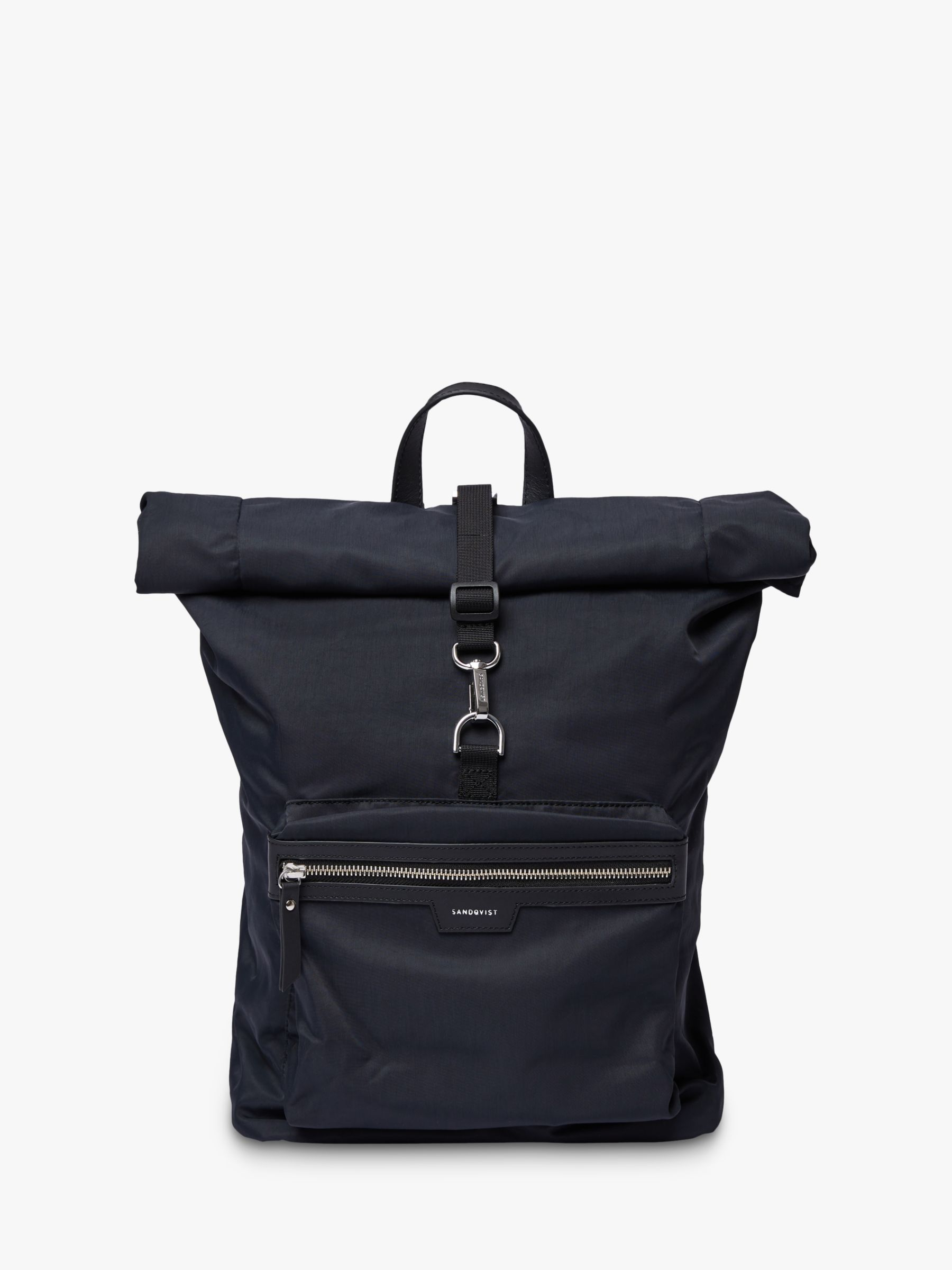 Sandqvist Sandqvist SIV Recycled Roll Top Backpack, Black