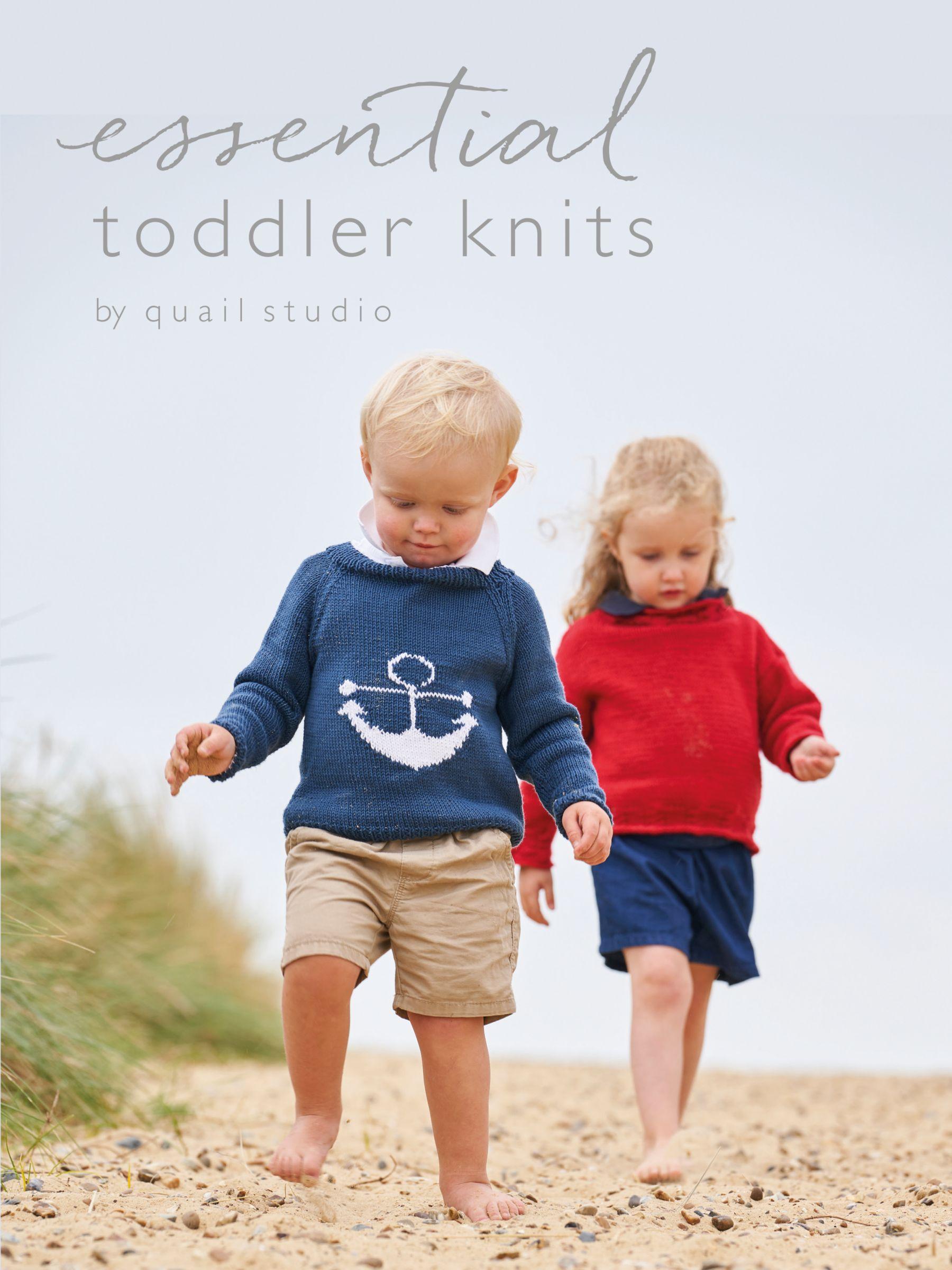 Rowan Rowan Essential Toddler Knits by Quail Studio Knitting Book