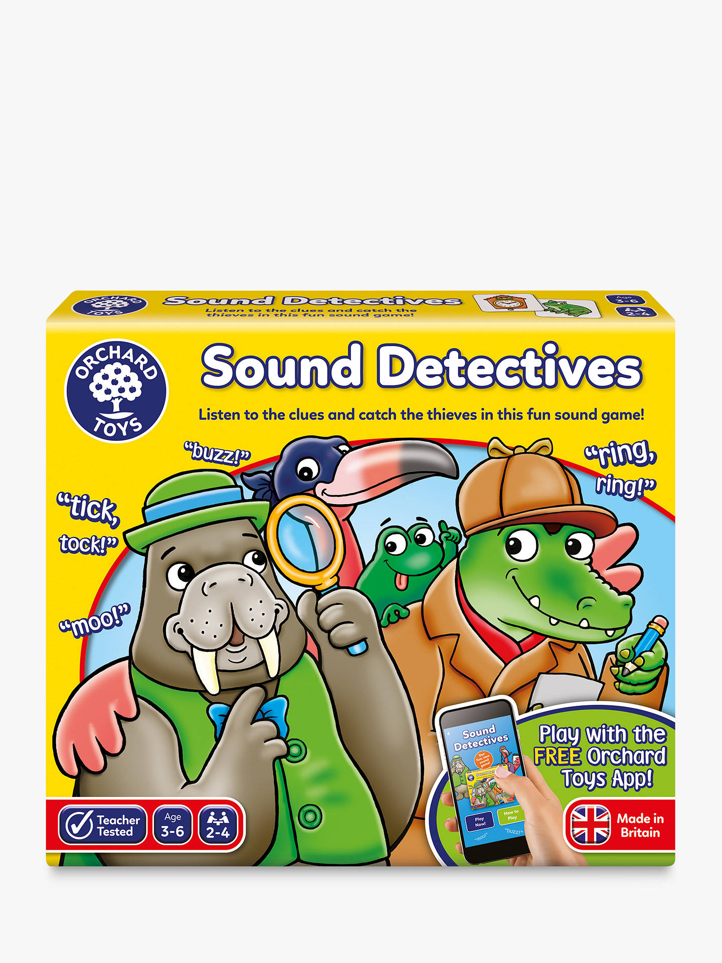 Buy Orchard Toys Sound Detectives Game Online at johnlewis.com