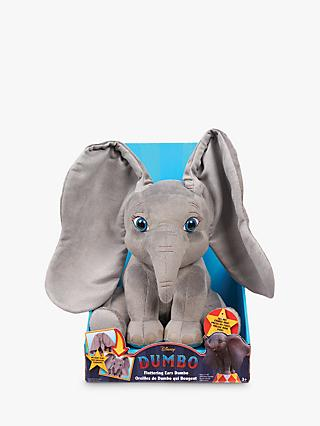 Disney Dumbo Fluttering Ears Plush Animated Soft Toy