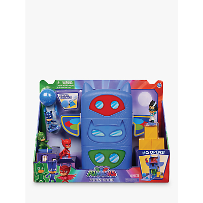PJ Masks Fold N Go Headquarters Playset