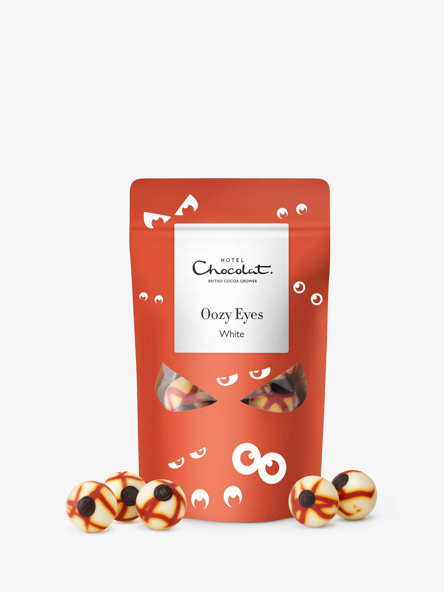 Hotel Chocolat White Chocolate Oozy Eyes, 138g