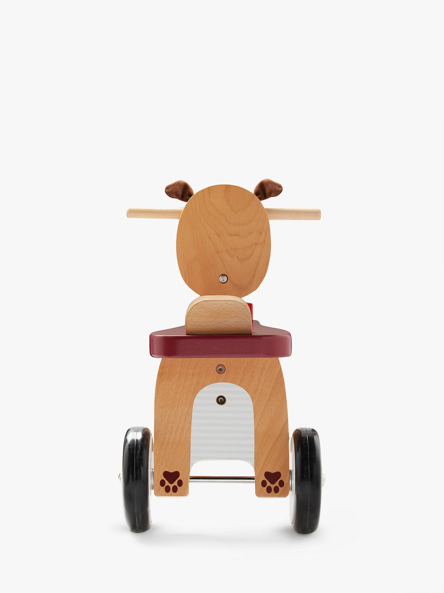 John Lewis Partners Wooden Ride On Dog