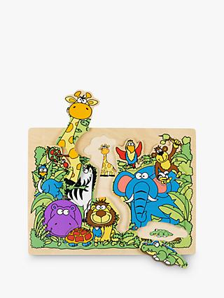 John Lewis & Partners Wooden Jungle Puzzle