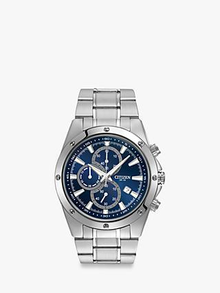 10f9859fc547 Citizen AN3530-52L Men s Chronograph Date Bracelet Strap Watch