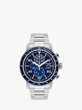 2632c4621b9d Citizen CA0648-50L Men s Chronograph Date Eco-Drive Bracelet Strap Watch