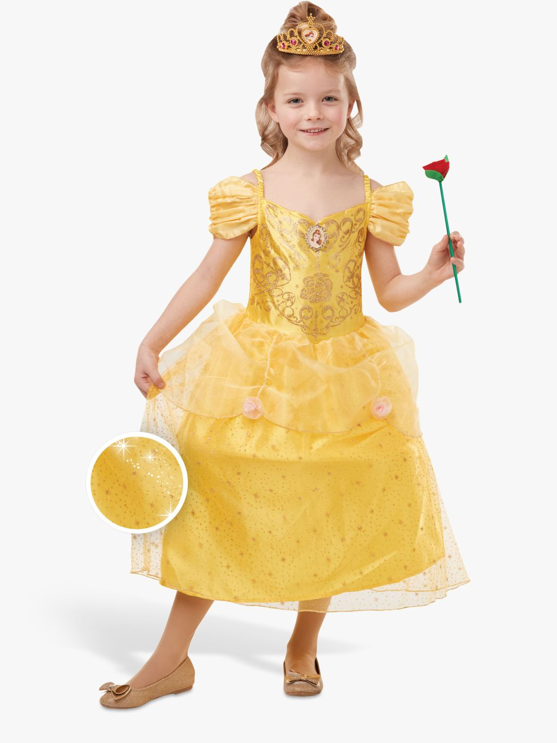 Rubies Disney Princess Beauty and the Beast Belle Children's Costume, 5-6 years