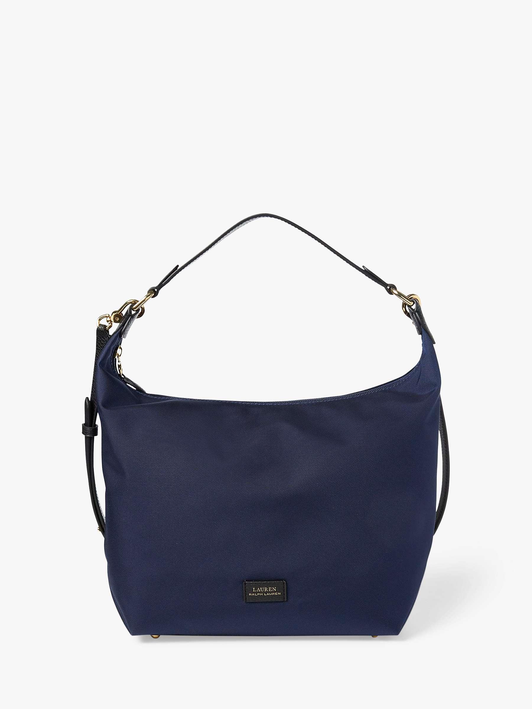kenkäkauppa uusi tyyli urheilukengät Lauren Ralph Lauren Chadwick Hobo Bag, Navy