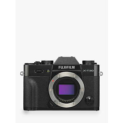 Fujifilm X-T30 Compact System Camera, 4K Ultra HD, 26.1MP, Wi-Fi, OLED EVF, 3� LCD Touch Screen, Body Only