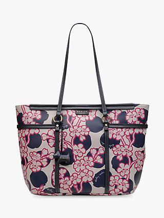 2e9f53d64203 Radley Blossom Spot Leather Tote Bag